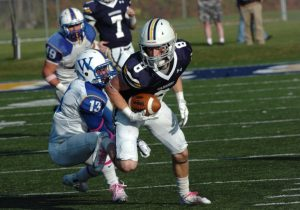 Lycoming wide out Ryan Umpleby is a sure handed wide out with good speed