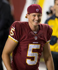 Redskins have placed a tender on punter Tress Way