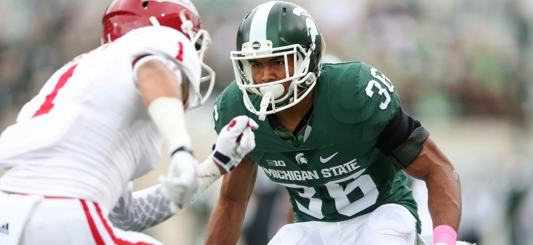 Lions are hosting MSU cornerback Arjen Colquhoun for their local day