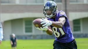 Ravens have released former East Carolina wide out Cam Worthy