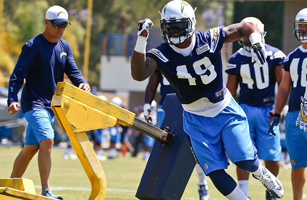 Titans have signed former Chargers LB Curtis Grant