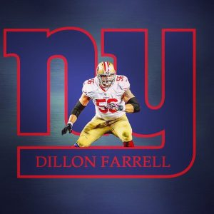 Dillon Farrell has been signed by the Giants