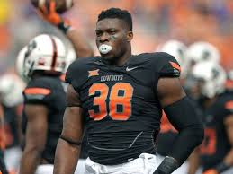 Could Oklahoma State defensive end Emmanuel Ogbah slide out of the first round?
