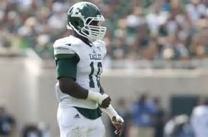 Eastern Michigan LB Great Ibe will be present at the Eagles local day
