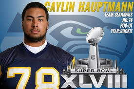 Former Seahawks lineman Caylin Hauptmann worked out for the Buccaneers today