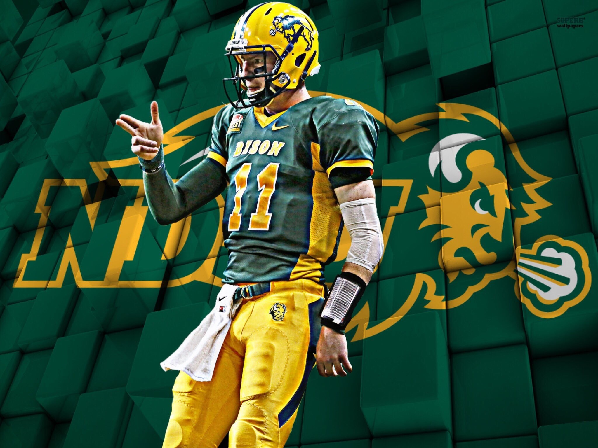 Carson Wentz could be the first QB selected and the highest NDSU player ever selected