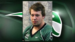 Portland State starting left tackle was found dead Wednesday night from a possible drug overdose