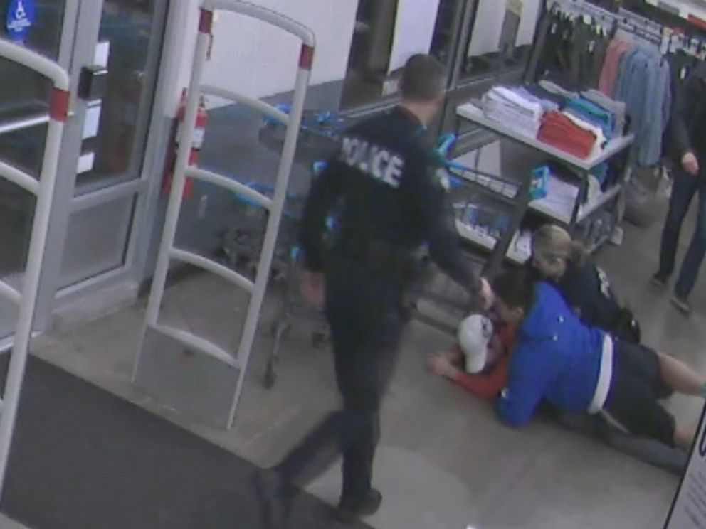 14 year old boy named Kevin Merz stopped a shoplifter in Seattle by tackling him