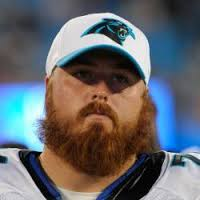 Panthers offensive lineman Mike Remmers has signed his free agent tender