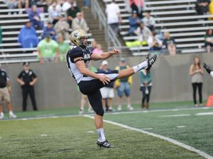 Former Akron punter Zach Paul is a very good punter