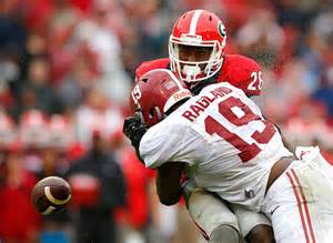 Reggie Ragland hits hard and the NFL scouts love it