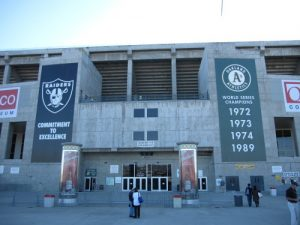 Overstock no longer has the naming rights for the Oakland Coliseum
