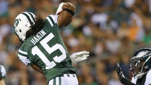 Former New York Jets wide receiver Saalim Hakim has signed with the Cleveland Browns