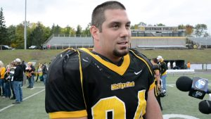 Tanner Agen of Michigan Tech is a solid prospect that can do more than just rush the passer