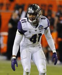 Travis Feeney the former Washington linebacker is headed to Oakland after a visit yesterday with the Saints