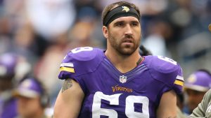 Jared Allen will retire with the Vikings