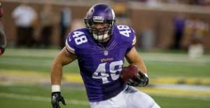 Vikings have re-signed RB Zach Line