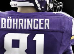 Vikings wide out becomes the first NFL player to have the umlaut on his jersey