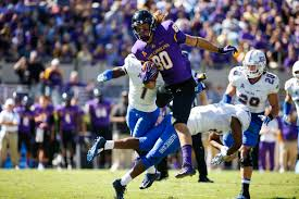 ECU tight end Bryce Williams is heading to the Patriots