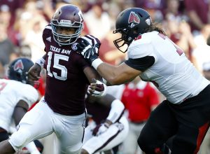 Texas A&M pass rusher Myles Garrett was named the most freakish player in 2016 by NFL.com