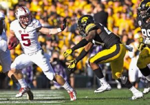 Christian McCaffrey is upset that people stereotype him because he is white