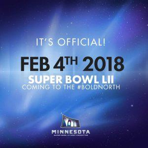 Super Bowl in Minnesota