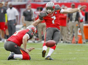 Buccaneers have released kicker Patrick Murray