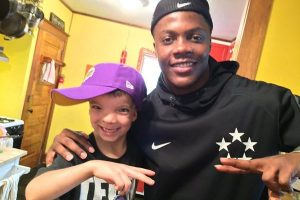 Teddy Bridgewater made a six year old's birthday party an unforgettable night