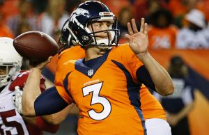 Denver Broncos quarterback Trevor Siemian could win the starting spot