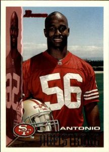 Former 49ers linebacker Antonio Armstrong was killed by his 16 year old son