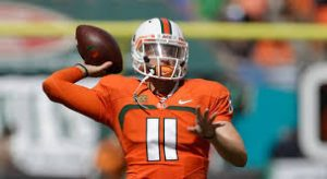 Redskins recently worked out former Hurricanes QB Ryan Williams