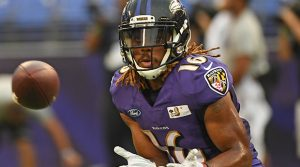 Ravens have waived WR Kaelin Clay