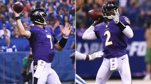 Josh Johnson may end up beating out Ryan Mallett for the back-up spot