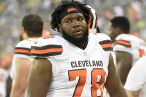 Browns OL Alvin Bailey was arrested