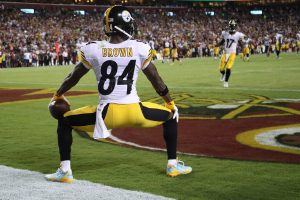 What did you think of Antonio Brown's end zone celebration?