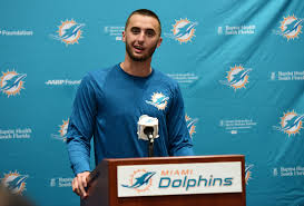 Dolphins have cut their seventh round quarterback