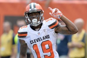 Browns wide out Corey Coleman will miss 4-6 weeks.