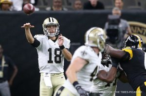 Saints have released QB Garrett Grayson