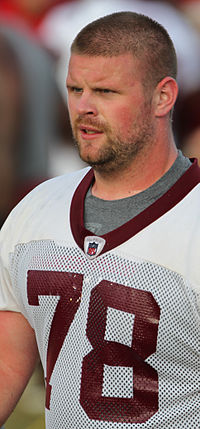 The Redskins save some money today, by asking their starting center to take a pay cut