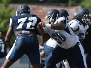 JSU center Markus Cook is the key to the Offense for Jackson State. He is a true anchor with good athletic ability.