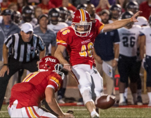 Pitt State kicker Chad Levin should have the nickname Money because he makes it rain for the Gorillas. He will get a look by the NFL.