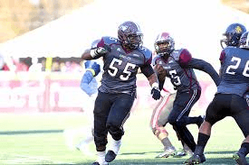 Carl Jones from NCCU is a monster on the O-Line. He is a very solid player