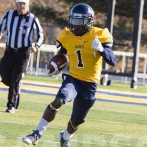 Clarence CJ Counts is a speedster that has been making plays at Graceland since he got there.