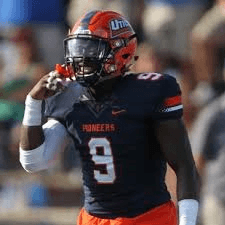 Utica College linebacker Juwan Wilson is a sound tackler. The guy is a machine