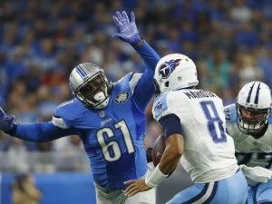 Lions pass rusher Kerry Hyder was not on the initial Pro Bowl Ballot