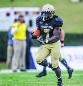 Wofford big back Lorenzo Long will punish you if you try to tackle him. He is known to blow up a cornerback or safety