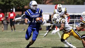 Ryan Nolan is a machine for Chowan. The former QB can do it all.