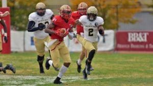 Aaron Sanders is a playmaker who is known for the big play at VMI