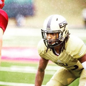 Emporia State defensive back Tre Dickerson is an impressive player