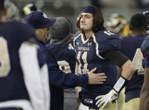 Jeff Ziemba is a gunslinger for Shepherd. He can make all the NFL throws